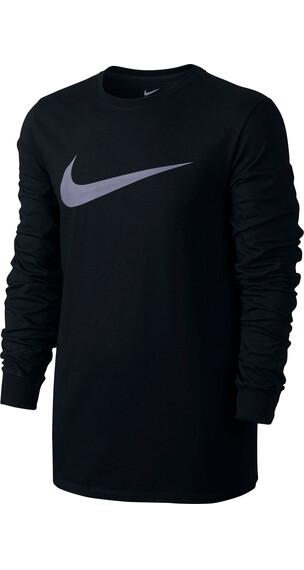 Nike Sportswear Hardloopshirt lange mouwen Heren zwart
